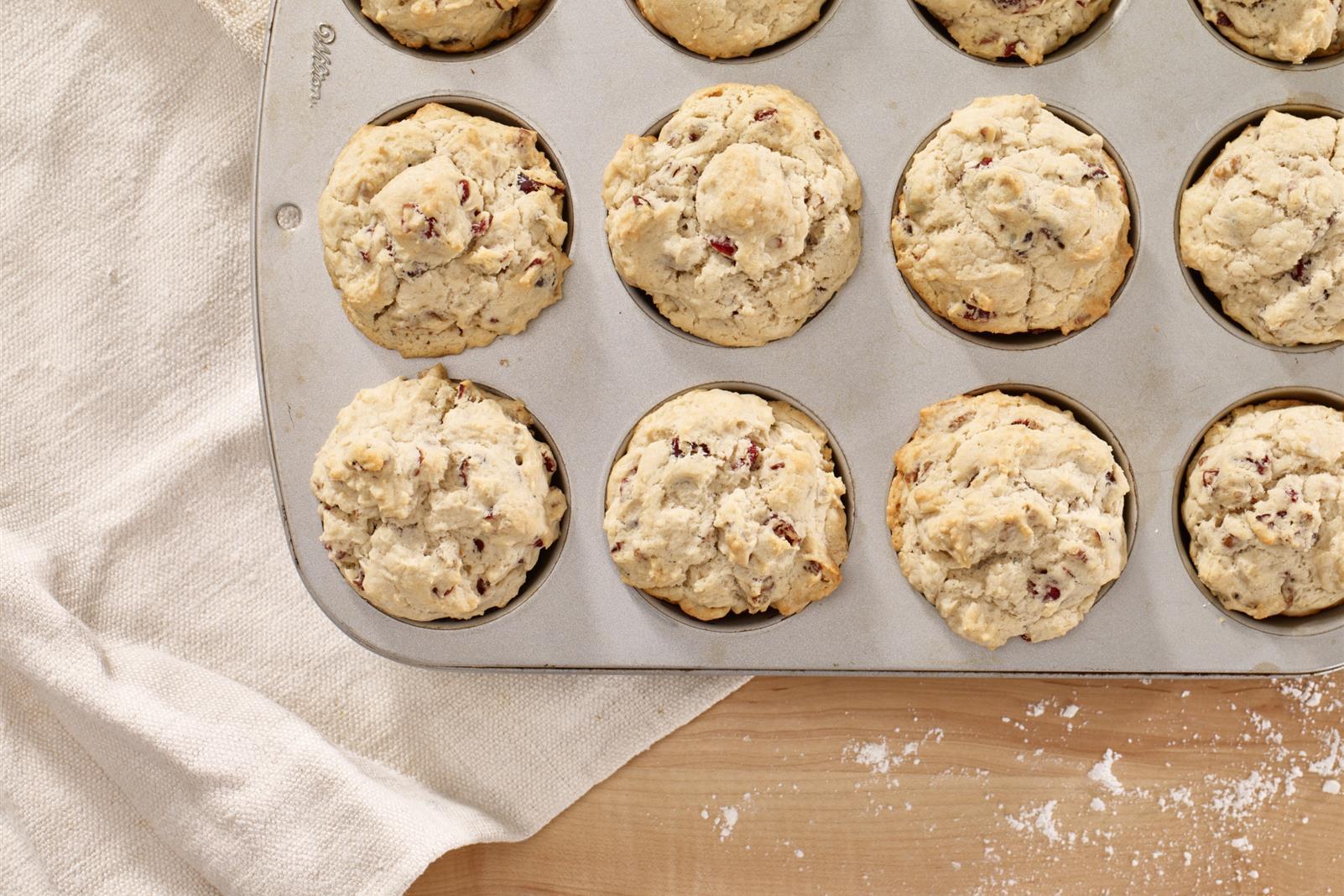 Cranberry Pecan Muffins