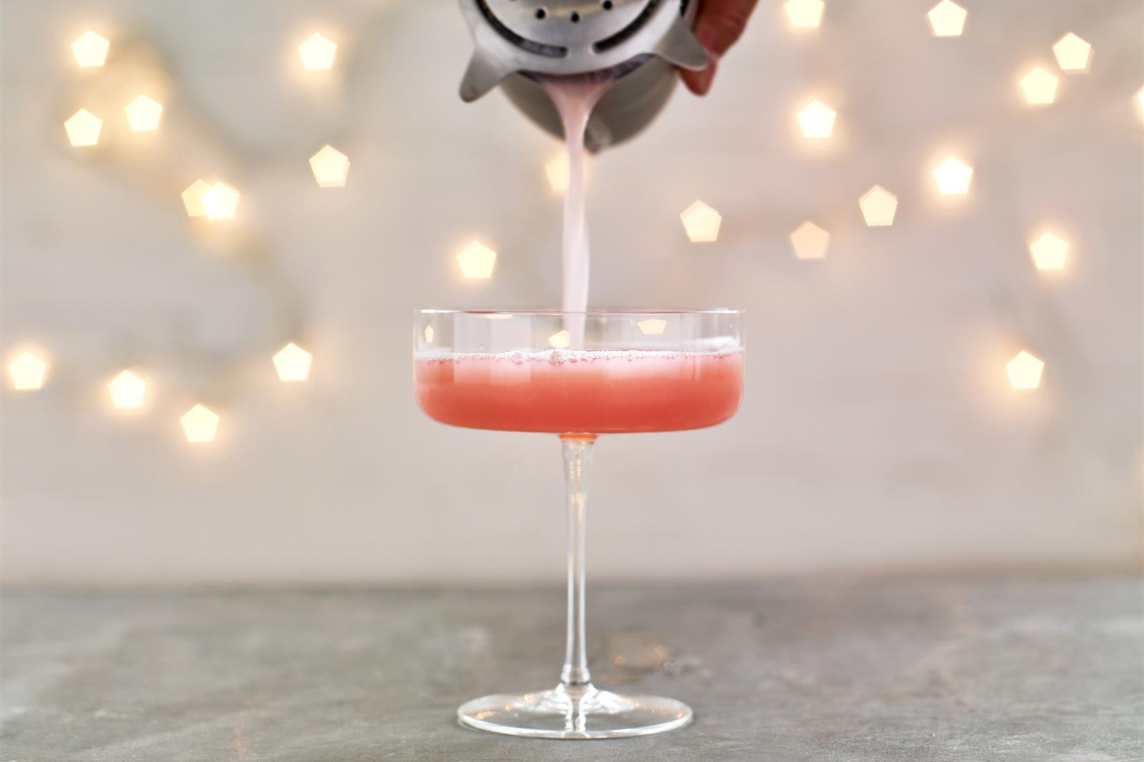 Cranberry Pisco Sour